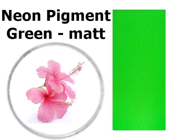 Neon Pigment Green - matt