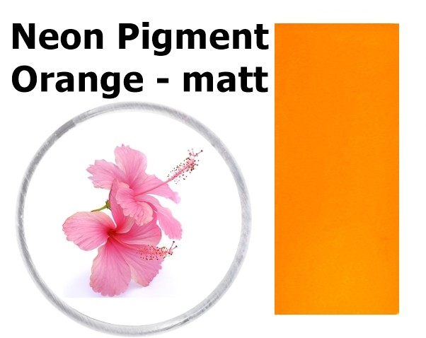 Neon Pigment Orange - matt