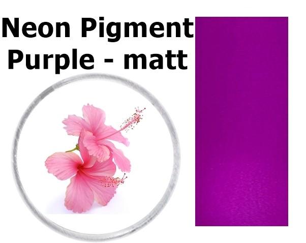 Neon Pigment Purple - matt