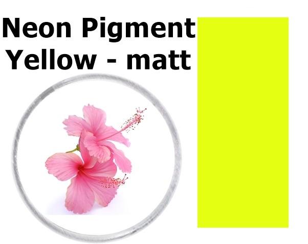 Neon Pigment Yellow - matt