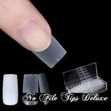 Blossom No File Tips Deluxe 504 Stück