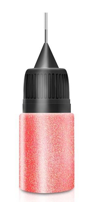 Peachy Dust Glitter in Squeezer Flasche