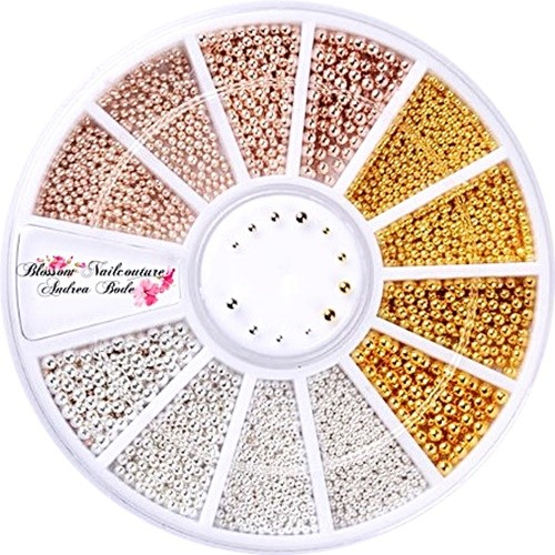 Ball Pearls Gold, Rosegold, Silver Rondell