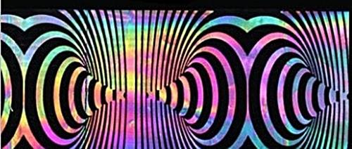 XL Transfer Folie Hologramm Psycho