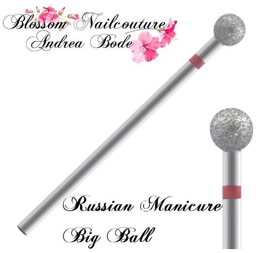 Diamant Nagelhaut Fräser Bit - Russian Manicure Big Ball