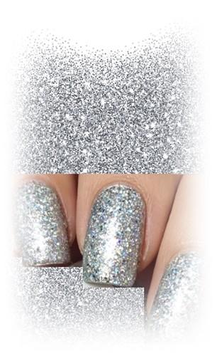 Sugar Silver Glitterpowder 3g