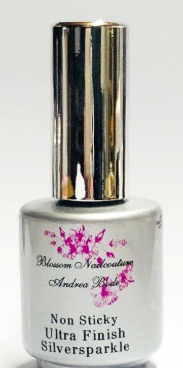 Non Sticky Ultra Finish Silversparkle 14ml