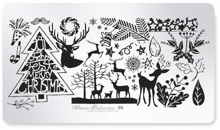 Stamping Plate Fullcover Wintertime 05