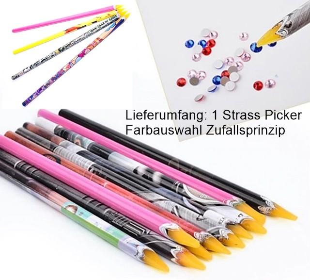 Strass Picker Wachs - Farbe Zufallsprinzip