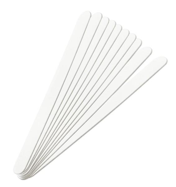Premium Wechselfeilblätter Weiss 100 Grit 10 Stück