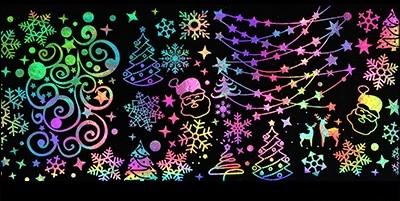 XL Transfer Folie Hologramm Winter