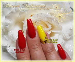 Paint & Art Gel Yellow Tube 8ml