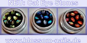 Cat Eye Stones Green