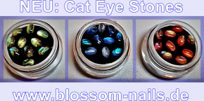 Cat Eye Stones Blue